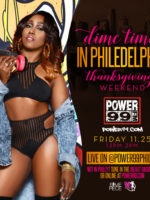 #DimeTimeNews The Mixin Vixen, @DJDimepiece is LIVE on Air + in the Mix on @Power99Philly! CLICK HERE TO LISTEN